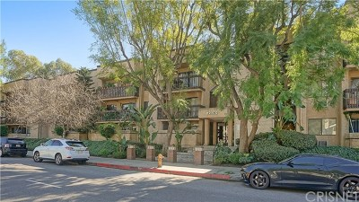 Woodland Hills Condo/Townhouse For Sale: 22100 Burbank Boulevard #221B