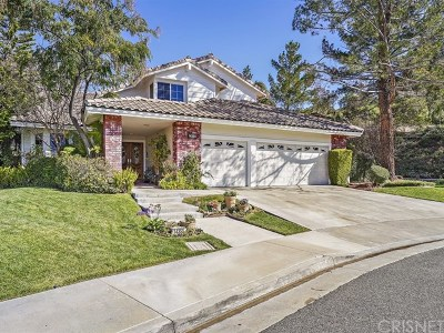 Canyon Country Single Family Home For Sale: 14355 Pinnacle Court