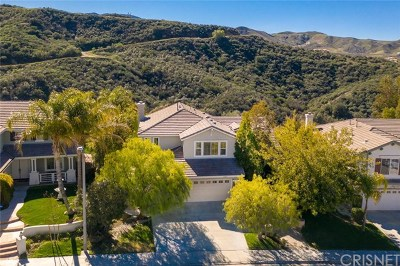 Canyon Country Single Family Home For Sale: 26309 Cardinal Drive