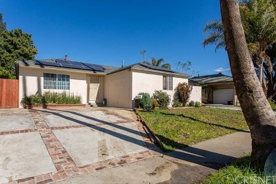 Reseda Single Family Home For Sale: 19129 Lemay Street
