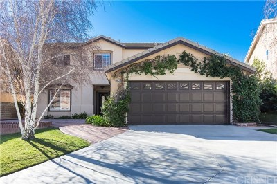 Castaic Single Family Home Active Under Contract: 30637 Beryl Place