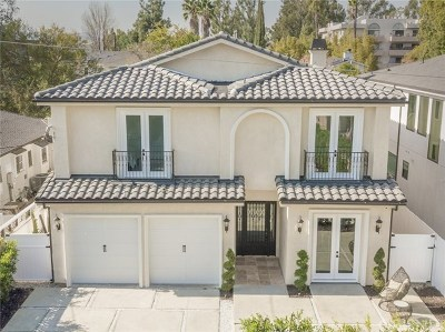 Studio City Single Family Home For Sale: 4535 Ben Ave