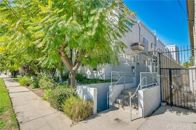 Sherman Oaks Condo/Townhouse For Sale: 15153 Burbank Boulevard #2