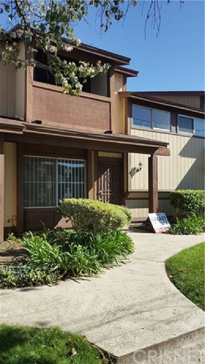 Panorama City Condo/Townhouse For Sale: 8706 Willis Avenue
