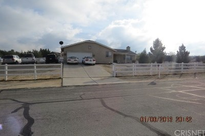 Littlerock Single Family Home For Sale: 12810 E Avenue X