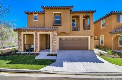 Acton, Canyon Country, Castaic, Newhall, Saugus, Stevenson Ranch, Valencia, Agua Dulce, Santa Clarita Single Family Home For Sale: 27332 Ellery Place