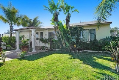 Sun Valley Single Family Home For Sale: 8615 Laurel Canyon Boulevard