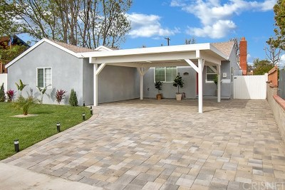 Lake Balboa Single Family Home For Sale: 17601 Haynes Street