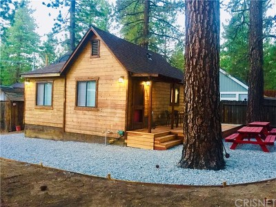 Big Bear Single Family Home For Sale: 41339 Lahontan Drive
