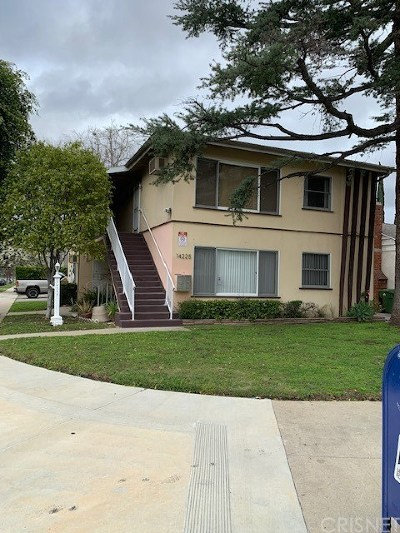 Sherman Oaks Multi Family Home For Sale: 14225 Riverside Drive