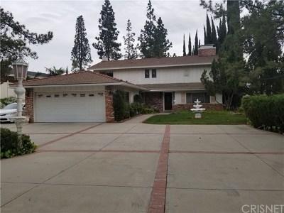 Granada Hills Single Family Home For Sale: 12020 Susan Drive