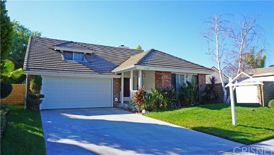 Valencia Single Family Home For Sale: 23920 Clayton Court