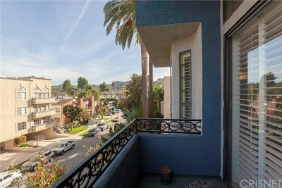 Sherman Oaks Condo/Townhouse For Sale: 4443 Ventura Canyon Avenue #301