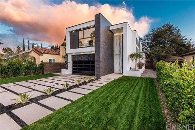 Toluca Lake Single Family Home For Sale: 11246 Kling Street