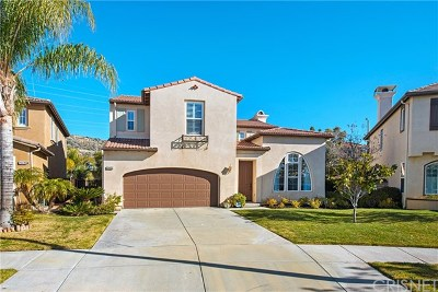 Valencia Single Family Home For Sale: 24433 Mira Vista Street