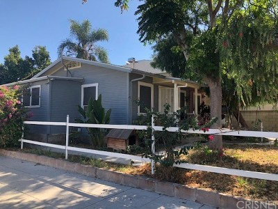 North Hollywood Multi Family Home For Sale: 4865 Bakman Avenue