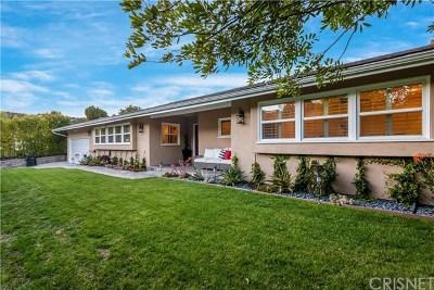 Sherman Oaks Single Family Home For Sale: 15967 Meadowcrest Road