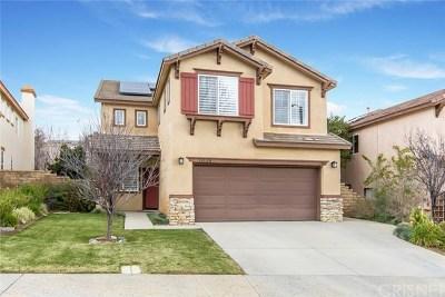 Castaic Single Family Home Active Under Contract: 32128 Big Oak Lane
