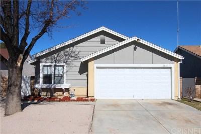 Palmdale Single Family Home For Sale: 2827 Nandina Drive
