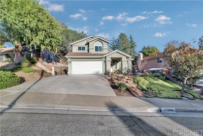 Saugus Single Family Home For Sale: 28828 Pepper Place