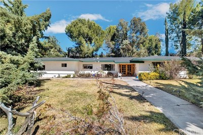 Canyon Country Single Family Home For Sale: 15941 Condor Ridge Road