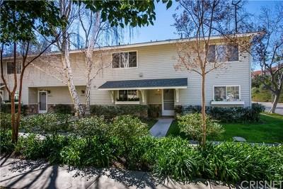Calabasas Condo/Townhouse For Sale: 26238 Alizia Canyon Drive