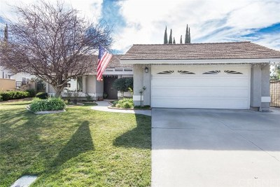Saugus Single Family Home Active Under Contract: 28548 Bud Court