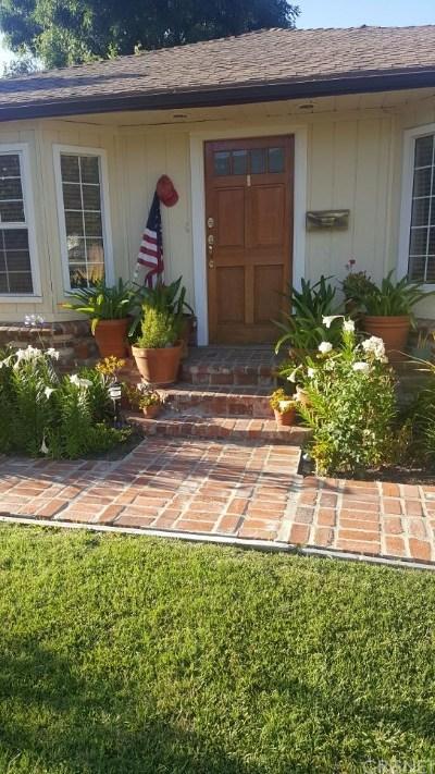 Single Family Home For Sale: 18033 Rosita Street