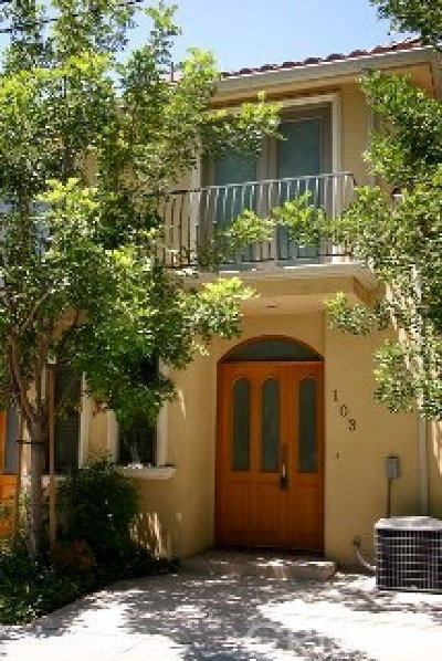 Burbank Condo/Townhouse For Sale: 216 N Buena Vista Street #103