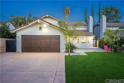 North Hollywood Single Family Home For Sale: 6140 Rhodes Avenue