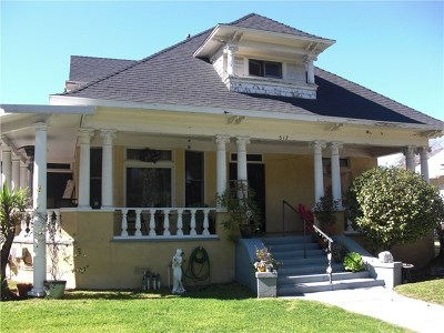 Pasadena Single Family Home For Sale: 513 Lincoln Avenue