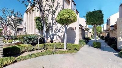 Arcadia Condo/Townhouse For Sale: 441 Fairview Avenue #9