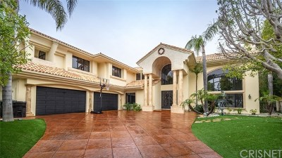 Brentwood, Calabasas, West Hills, Woodland Hills Single Family Home For Sale: 25548 Kingston Court