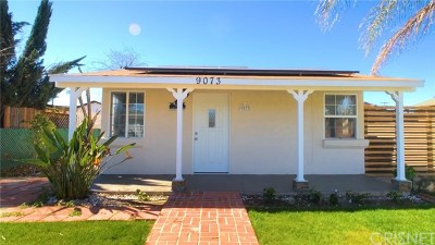 Sun Valley Single Family Home For Sale: 9073 Ilex Avenue