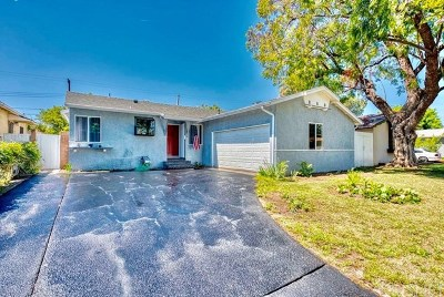 Reseda Single Family Home For Sale: 18628 Lemay Street