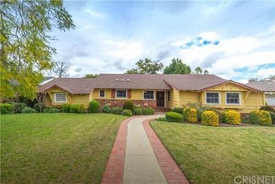Northridge Single Family Home For Sale: 9322 Lasaine Avenue
