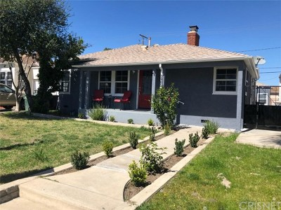 Burbank Single Family Home For Sale: 3905 W Victory Boulevard