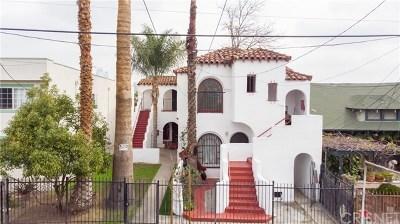 Lake Los Angeles Multi Family Home For Sale: 1716 Magnolia Avenue