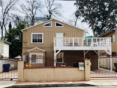 Sherman Oaks Multi Family Home Active Under Contract: 4706 Orion Avenue