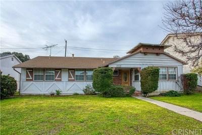 Northridge Single Family Home Active Under Contract: 19608 Parthenia Street