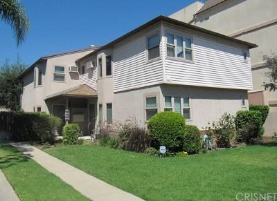 Sherman Oaks Multi Family Home For Sale: 4441 Hazeltine Avenue
