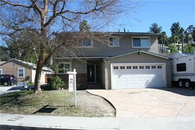 Woodland Hills Single Family Home For Sale: 5338 Don Pio Drive