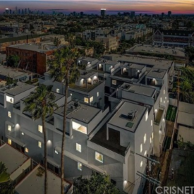 Hollywood Single Family Home For Sale: 737 N Gramercy Place