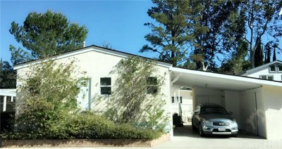 Calabasas Single Family Home For Sale: 23777 Mulholland Hwy Spc 45