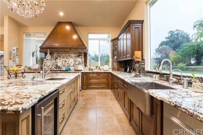 Saugus Single Family Home For Sale: 22140 Rolling Ridge Drive