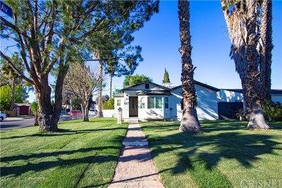 Van Nuys Single Family Home Active Under Contract: 15457 Lemay Street