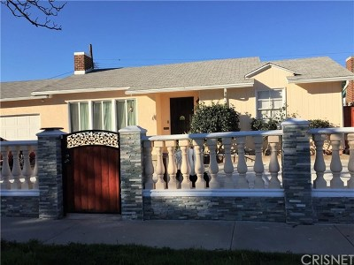Pacoima Single Family Home For Sale: 9843 Amboy Avenue
