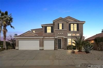 Lancaster, Palmdale, Quartz Hill Single Family Home For Sale: 3625 Fairgreen Lane