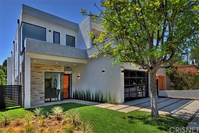 Sherman Oaks Single Family Home For Sale: 14736 Greenleaf Street