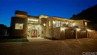 Brentwood, Calabasas, West Hills, Woodland Hills Single Family Home For Sale: 24815 Mulholland Highway